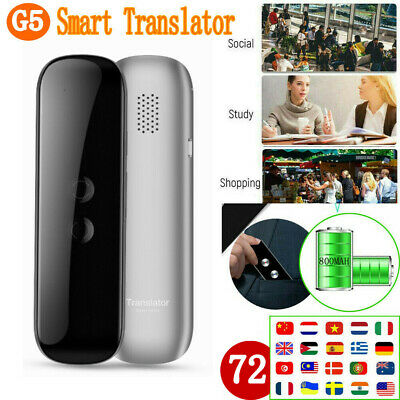 CA Translaty MUAMA Enence 40 Languages Smart Translator Instant Voice Photograph