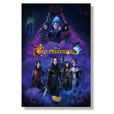 Descendants 3 Silk Poster Home Office Decor Poster - 23.6*15.7 inches