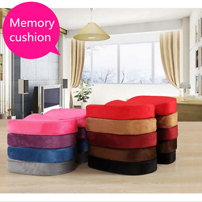 UK Memory Foam U Pillow Orthopedic Chair Cushion Coccyx Pain Office Relief Seat