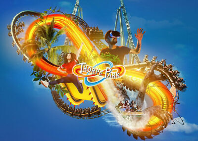 2 x Thorpe Park tickets  Wedneday 4th September  2019 (Not  E- Tickets) 04/09/19