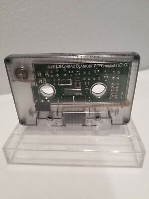 TDK HD-01 Cassette tape deck head demagnetizer Japan Vintage Pre-owned