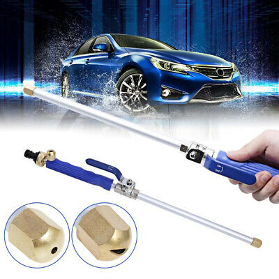 Hydro Jet High Pressure Power Washer Water Spray Nozzle Wand Attachment Tools