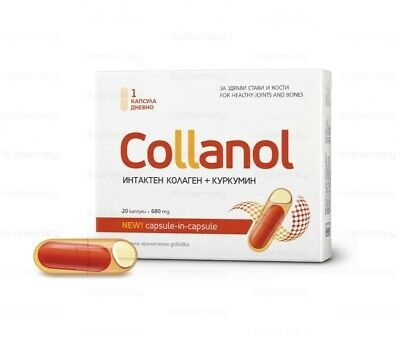 Collanol for healthy joints and bones Stops inflammation Limits stiffness