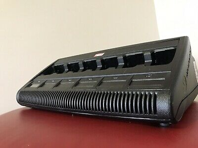 Motorola Impres Adaptive Charger WPLN4211B with 6 bays and 1 Display.