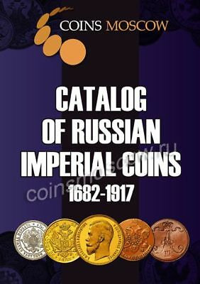 Catalog of Coins of Imperial Russia 1682-1917 (prices in dollars) in English.