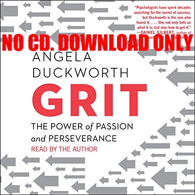 Grit: The Power of Passion and Perseverance By Angela Duckworth (Audiobook)