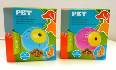 UK Pet Food Ball, FUN and INTERACTIVE Treat, Dispensing Ball for Dogs / Cats