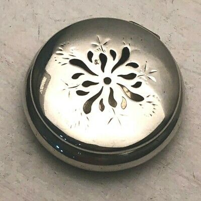 Antique Sterling Silver Sachet Box or Snuff Box, by Frank M Whiting Co.