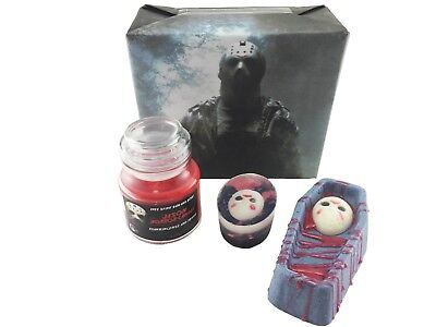 Jason Voorhees Bath Gift Set Classic Horror - Gothic - Equinox Beauty
