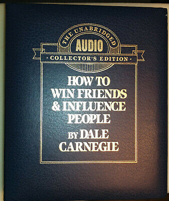 Dale Carnegie How to Win Friends & Influence People Unabridged Collector edition