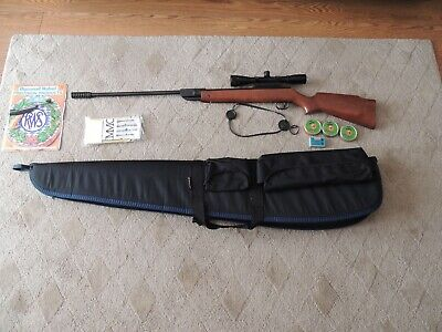 DIANA 250 AIR Rifle - 0 22 cal Thumbhole Beechwood Stock - $199 99