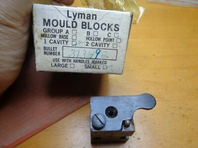 LYMAN PISTOL Mould Single Cavity 38/357 HP Bullet # 358439 - NEW