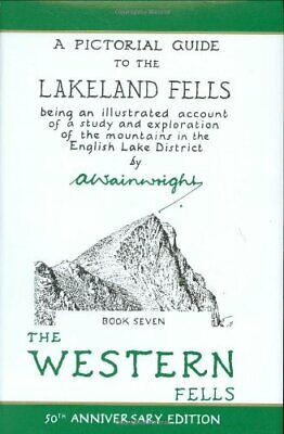 The Pictorial Guides: The Western Fells (50th ... by Wainwright, Alfred Hardback