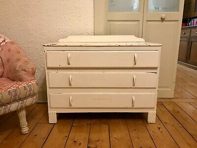 Chest of drawers, antique, vintage, original paint, small, sweet, homely