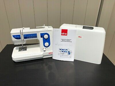 EMBROIDERY/SEWING MACHINE ELNA Xquisit II 9020 with accessories