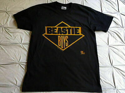 Rare Vintage 1986 Beastie Boys GET OFF MY DICK Run Dmc Rap Tour T-shirt Reprint