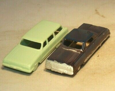 1963 Chevrolet Impala & Ford Country Sedan Station Wagon HO Scale