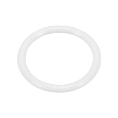 Kitchen Silicone Strainer Washer Drain Gasket 34mm OD White for Flip Cover
