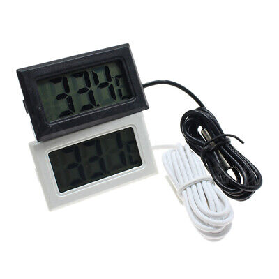 Waterproof Mini Digital LCD Thermometer Aquarium Refrigerator Water Temperature@