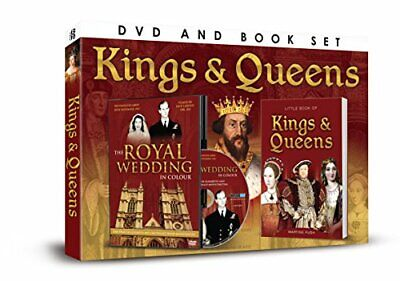 Kings & Queens DVD/Book Gift Set - DVD  F4VG The Cheap Fast Free Post
