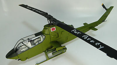UH-1 HUEY VIETNAM Era Iroquois Helicopter Wooden Model-(See