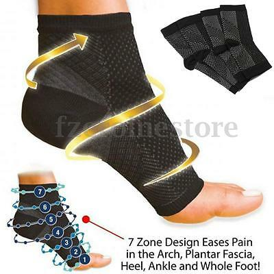 Ankle Support Compression Socks Plantar Fasciitis Foot Brace Sleeve Achy Heel