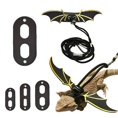1pc Reptile Lizard Gecko Bearded Dragon Harness and Leash Adjustable Strap New
