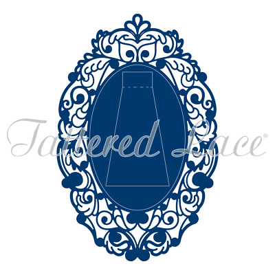 Tattered Lace Picture Perfect Oval Die (TLD0327)