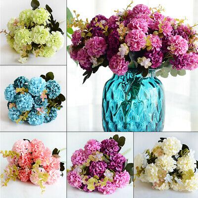 Decorative Artificial Simulation Flower Ball Chrysanthemum Fake Plants Supplies