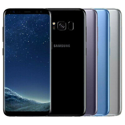 "Samsung S8 SM-G950 64GB 5.8"" Android Smartphone Unlocked 4G LTE Various Colors"
