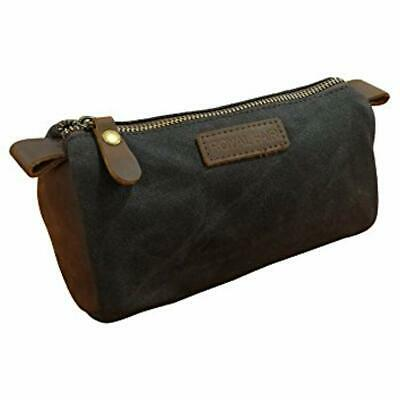 5c3ed49543a9 CATHY'S CONCEPTS PERSONALIZED Waxed Canvas & Leather Dopp Kit, Tan ...