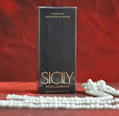 DOLCE & GABBANA SICILY  EDP 100ml., DISCONTINUED, VERY RARE, NEW IN BOX, SEALED