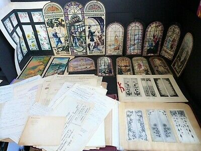 Veaudequin Set Projects Stained Glass Art Drawings Photos Catalogue Archives