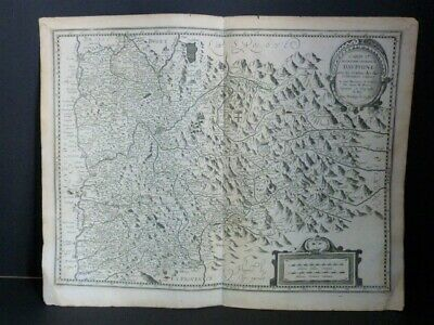 Beins & the Clerc Card Description Dauphine Ca 1650 Geography Regionalism