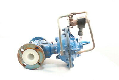 Itt 885 Dia-flo Pneumatic Flanged 2in Diaphragm Valve