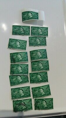 GB. 1958 1/3  British Empire and Commonwealth Games.1 x mint 14 x used