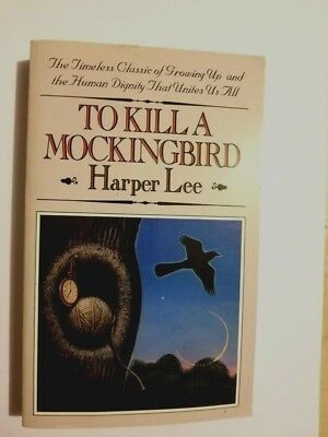 To Kill A Mockingbird By Harper Lee (Paperback) Very Good--Free Shipping