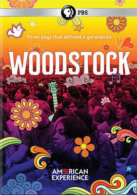 American Experience: Woodstock - Three Days That DVD