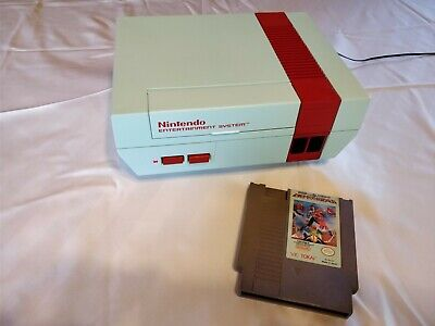 Custom NES Nintendo Entertainment System Console Clash at Demonhead theme w/Game