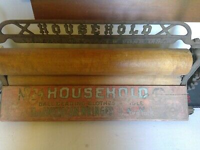 Vintage HOUSEHOLD Clothes Mangle-The American Wringer Co. New York  No 24