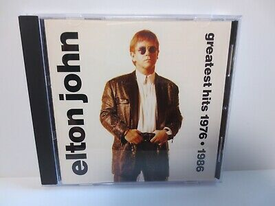 Elton John ~ Greatest Hits 1976 - 1986 ~ Like New ~ Mint ~ Cd