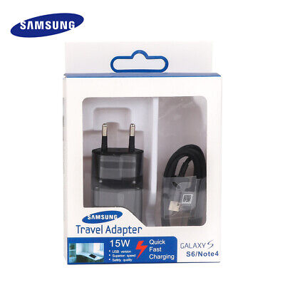 Original Fast Quick Wall charger Cable For Samsung Galaxy S7/S6/Edge Note4 5 DA