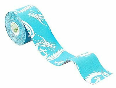 Nasara KT23 Blue Dragon, Lifestyle Kinesiology Tape, 5 cm x 5 m