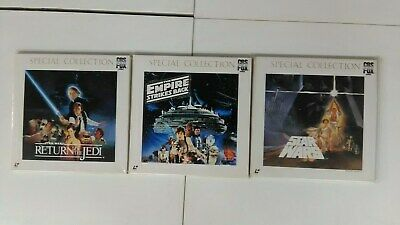 STAR WARS SPECIAL COLLECTION  JAPAN Laserdisc 9disc 3 BOX Set Used