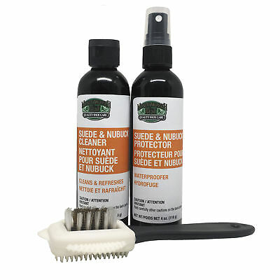 Moneysworth & Best Suede and Nubuck Care Kit Protector Cleaner & Brush