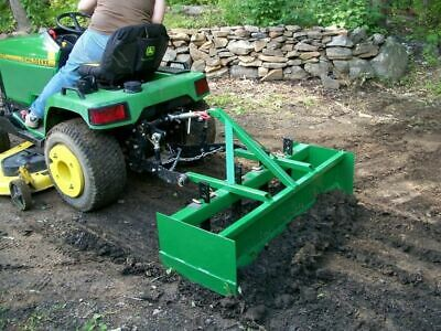 3pt Box Blade Plans DIY Garden Box Scraper Tractor Attachment Build Your Own
