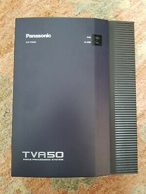 Panasonic KX-TVA50 Voice Processing System with AC Adaptor, power cord, & others