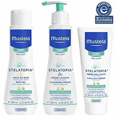 Mustela Bath Time Gift Set, Baby Skin Care, Available For Normal, Dry, Luxury
