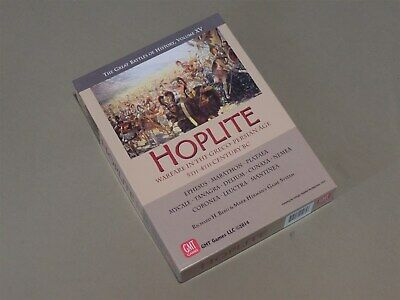 Hoplite - Warfare in the Greco-Persian Age GBOH XV- GMT - UP - Complete + Bonus