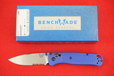 Benchmade 535S Bugout Cpm-S30V Axis Lock, Blue Handle Knife, New In Box